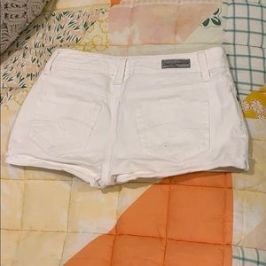 Justice Shorts - Justice white denim shorts